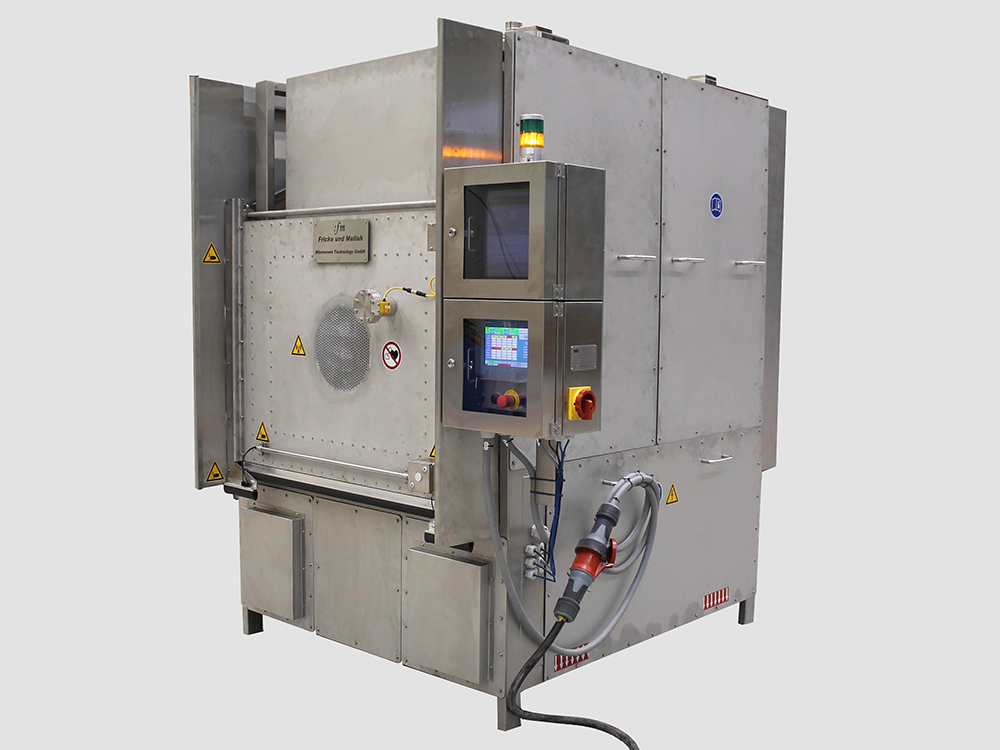 Chamber oven 10 kW / 915 MHz, Solid State Microwave Technology